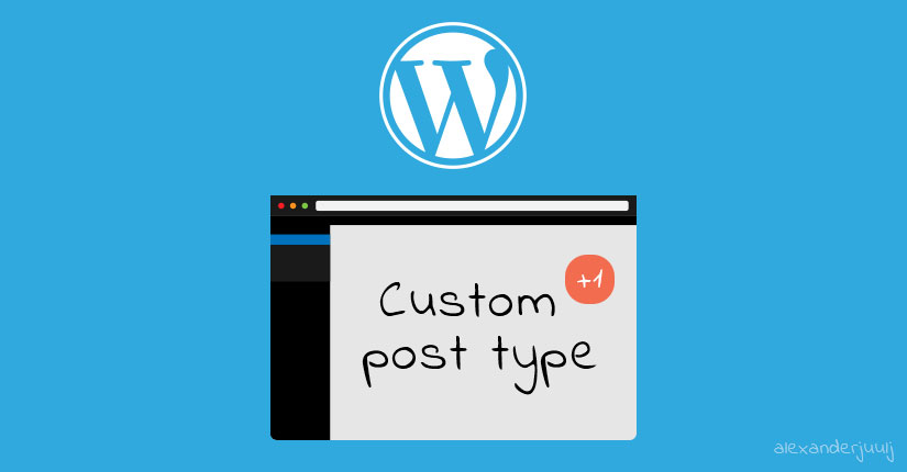 Register new custom post type WordPress